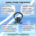 Listening Comprehension in Spanish: Audio in Spanish