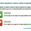 Irregular verbs in Spanish - los verbos irregulares