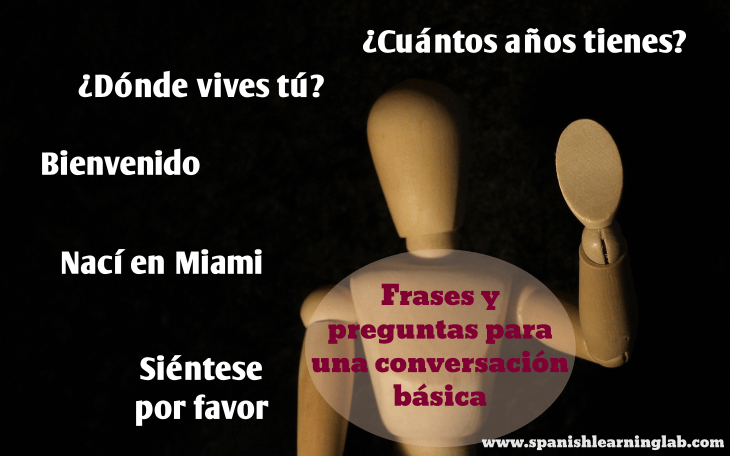 Basic phrases and questions in Spanish