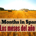 Months of the year in Spanish