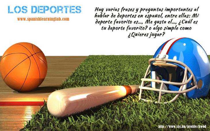 Basic sports in Spanish - Los deportes