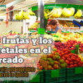 Buying fruits and vegetables at the market in Spanish