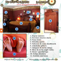 A list of bedroom objects in Spanish to describe a room