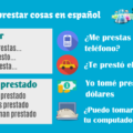Lending and borrowing in Spanish