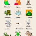 Pets and domestic animals in Spanish