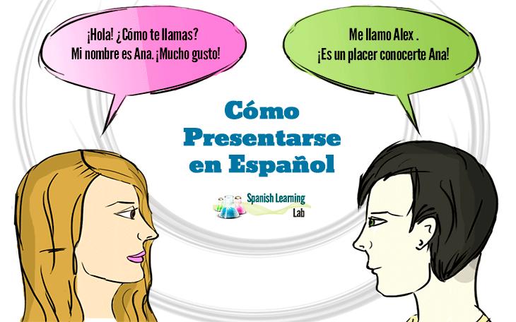 Expressiones y preguntas para presentarse en español con ejemplos de presentaciones