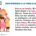 La familia en español - cómo describir la familia en español con ejemplos y ejercicios de escucha