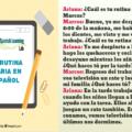 Una lección con varios ejemplos para aprender sobre la rutina diaria en español