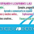 Learn Spanish with free online lessons - Lecciones de español gratuitas con muchos recursos para aprender español