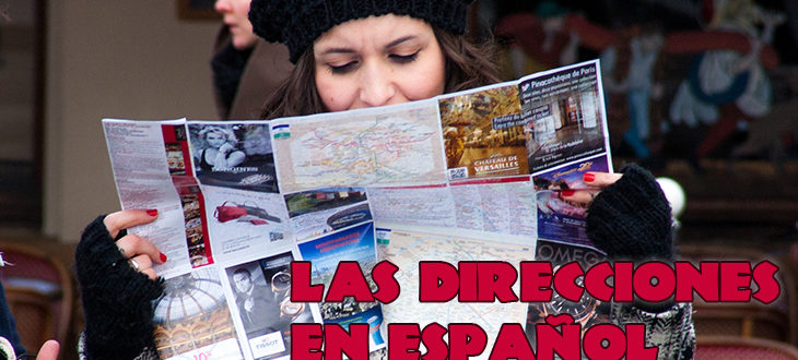 Places and ways for asking and giving directions in Spanish