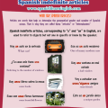 Learn to use the 4 Spanish indefinite articles in sentences