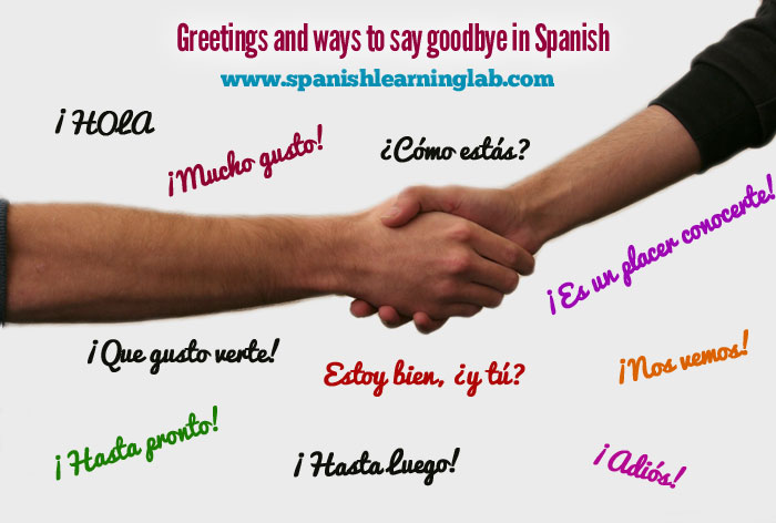 Common spanish greetings and farewells list and quiz vocabulary introduction common spanish greetings and farewells m4hsunfo
