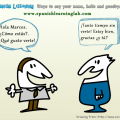 Spanish Audio Listening: greetings, introductions and farewells