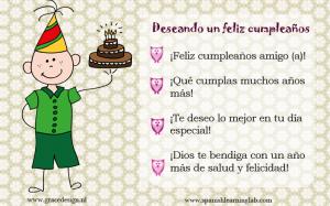 How to say happy birthday in Spanish