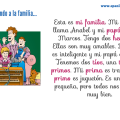 A description of a family in Spanish - adjectives and SER