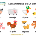 Common Farm Animals in Spanish Listening Practice