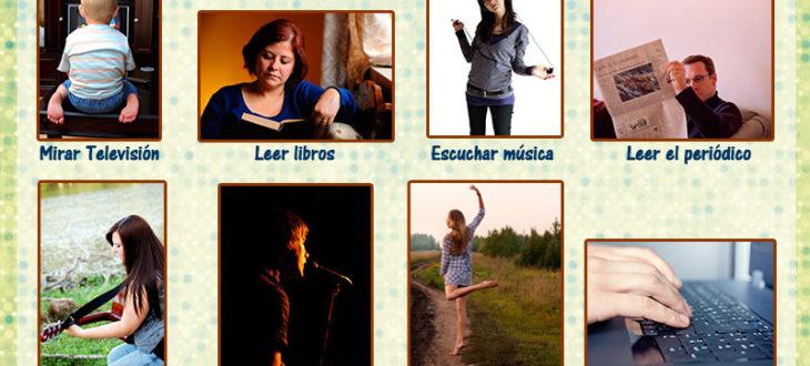 Las actividades en español para el tiempo libre / Los pasatiempos en español