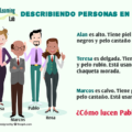 Cómo Describir Personas en Español Adjetivos Verbos Ejercicios y Ejemplos