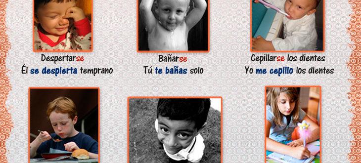Las actividades diarias en español y la rutina diaria en español
