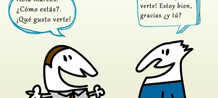 Saludos y presentaciones en español ejercicios y ejemplos de conversaciones básicas