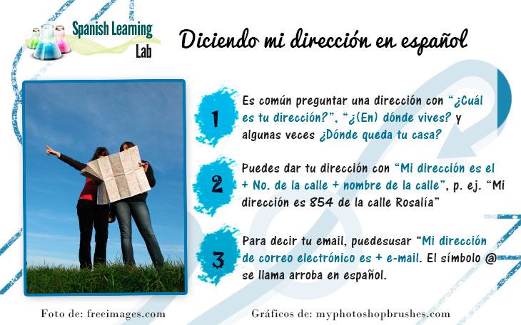 Cómo Decir y Escribir la Dirección de tu Casa en Español