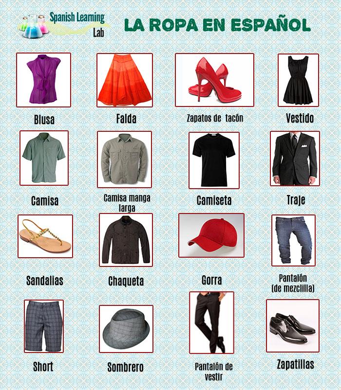 Cómo Describir la Ropa en Español: estilos, tallas y patrones