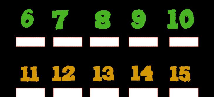 numbers in Spanish 1 to 20 worksheet pdf los números del 1 al 20 ejercicios español