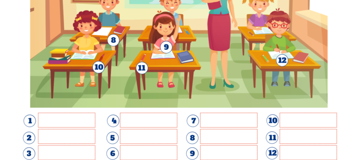 the classroom in spanish pdf worksheet el aula de clases ejercicios